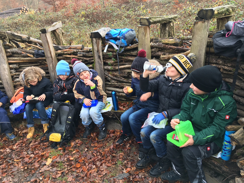 Waldmorgen mit den Kindergärtnern